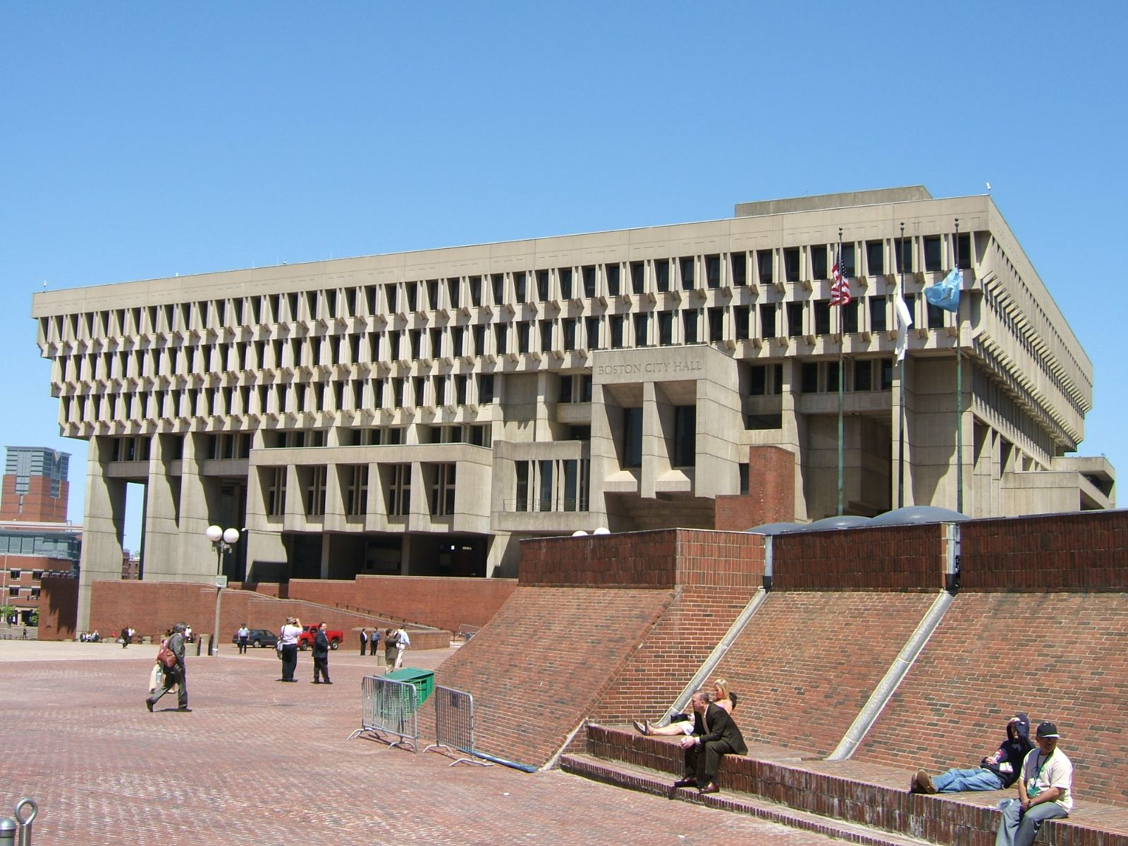Architecture Boston City Hall By Kallmann Mckinnell & Knowles