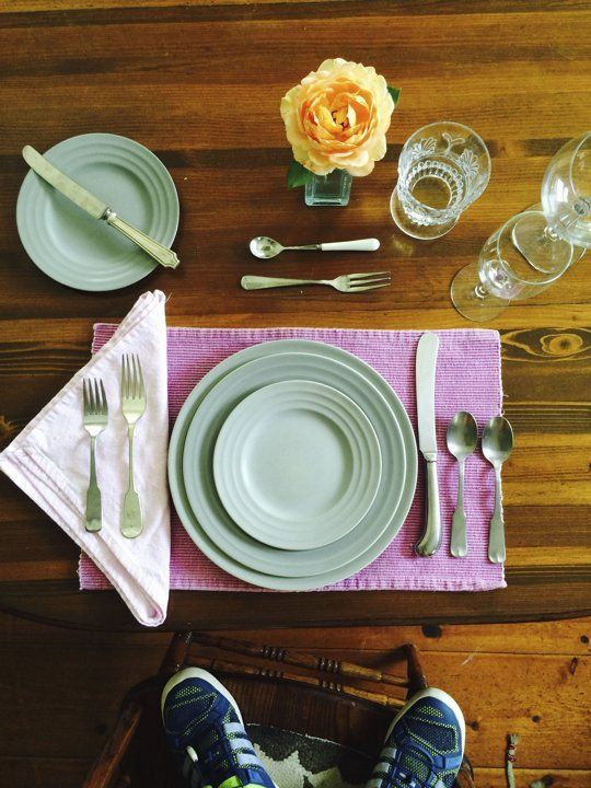How To Set The Table Properly Formal Table Setting Table