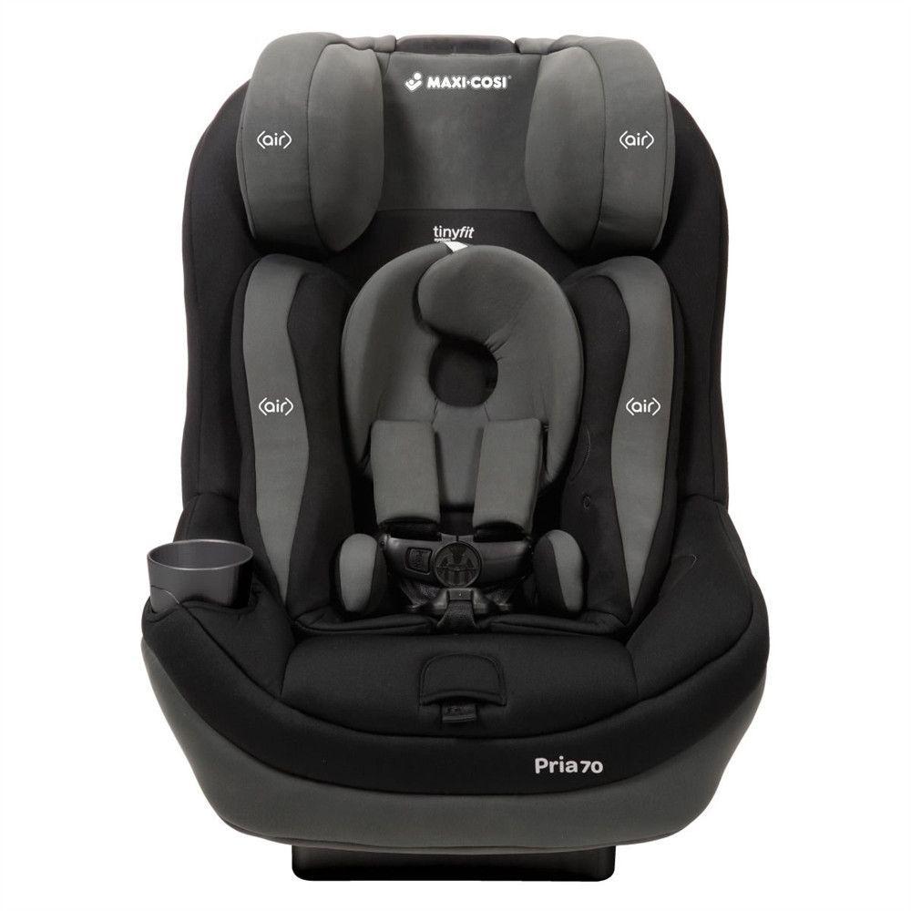 Maxi-Cosi Pria 70 Convertible Car Seat W/Tiny Fit - Total Black A ...
