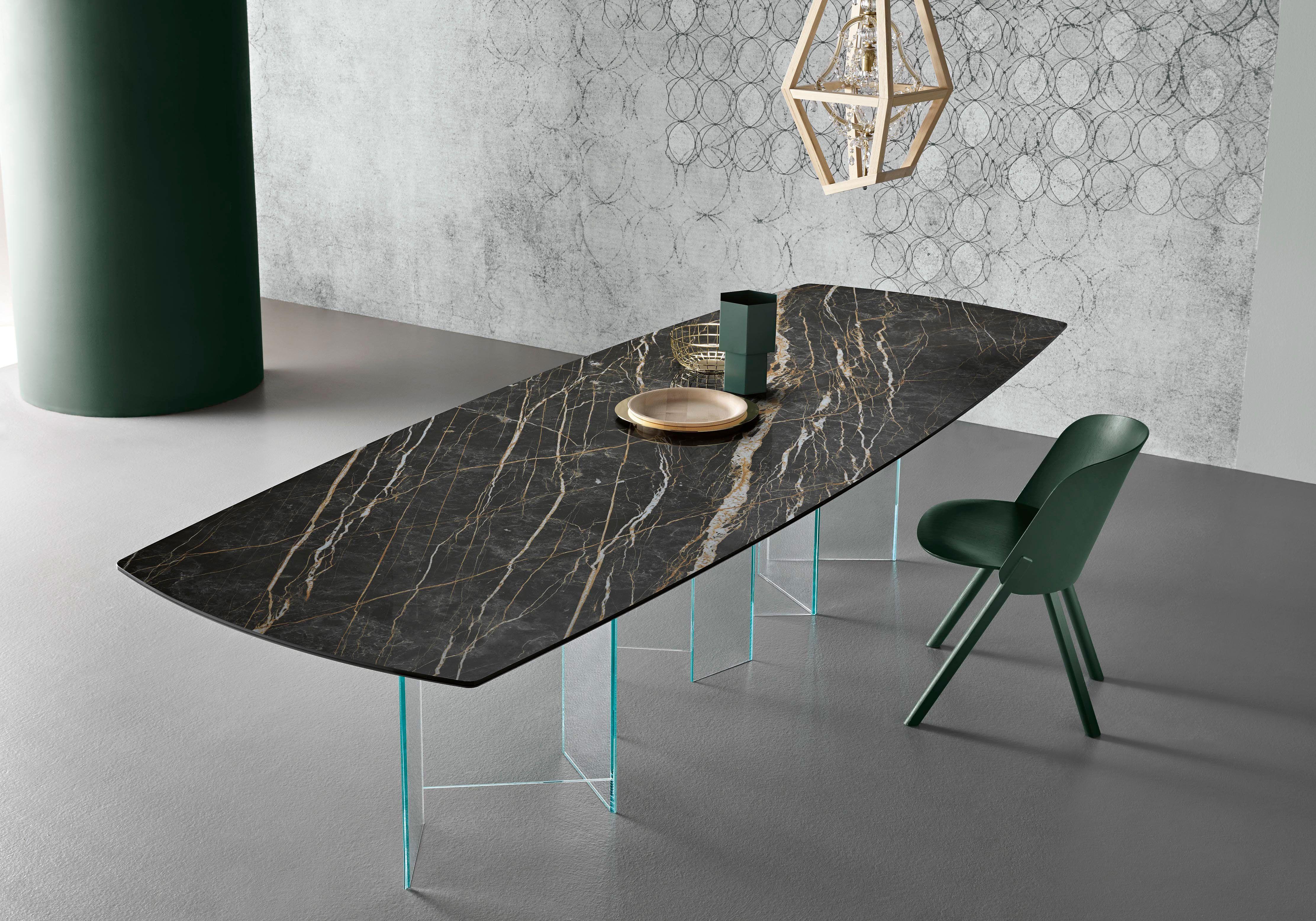 Tonelli Mobili ~ Tonelli design year: 2017 table metropolis laminam 12 cava noir
