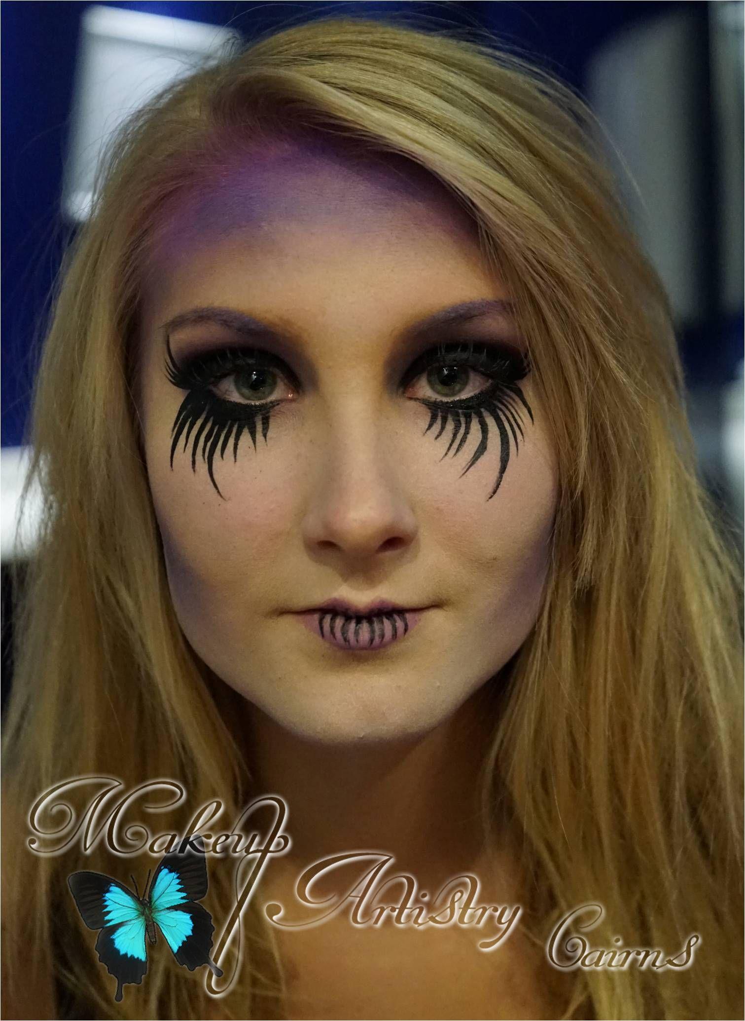 Halloween Makeup ~ Weeping Ghoul Painted by Dana Harris ~ Makeup ...