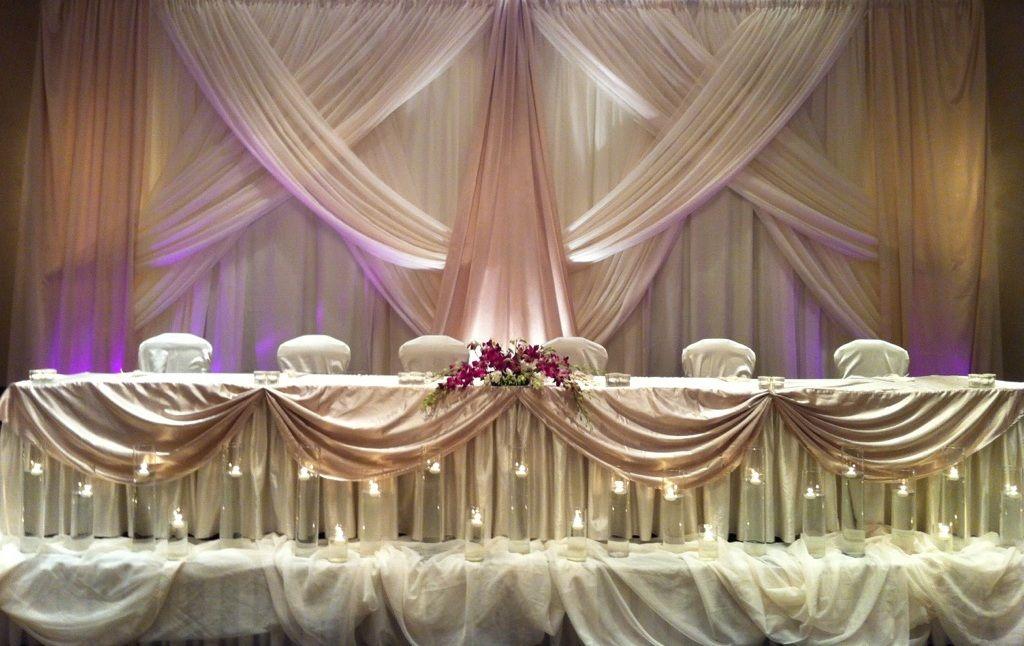 Backdrop | Wedding event decor, Reception backdrop ...