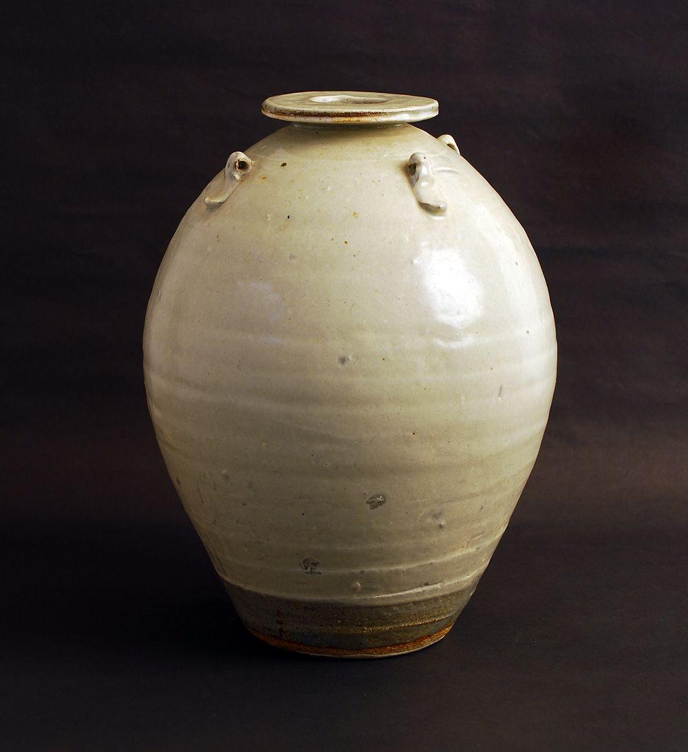 Leach School Pottery In 2020 Stoneware Vase Pottery Stoneware