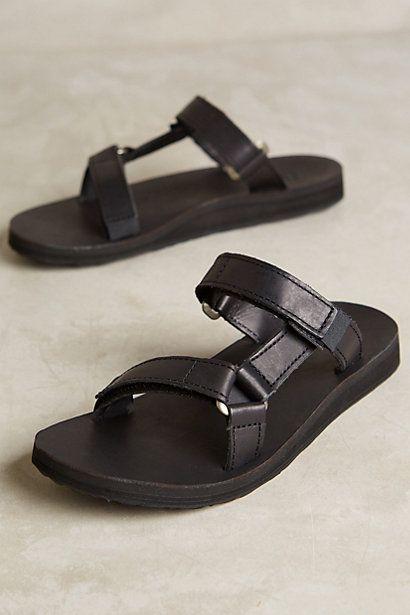92f8685c0 Teva Universal Leather Slides  anthropologie