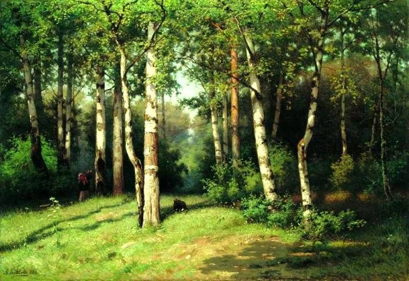 Noon in the Woods Efim Volkov