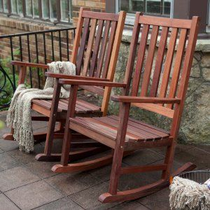 Wooden Rocking Chairs. Outdoor Wooden Rocking Chairs