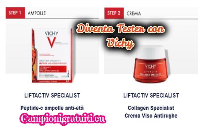 Diventa tester Liftactiv Collagen Specialist con Vichy