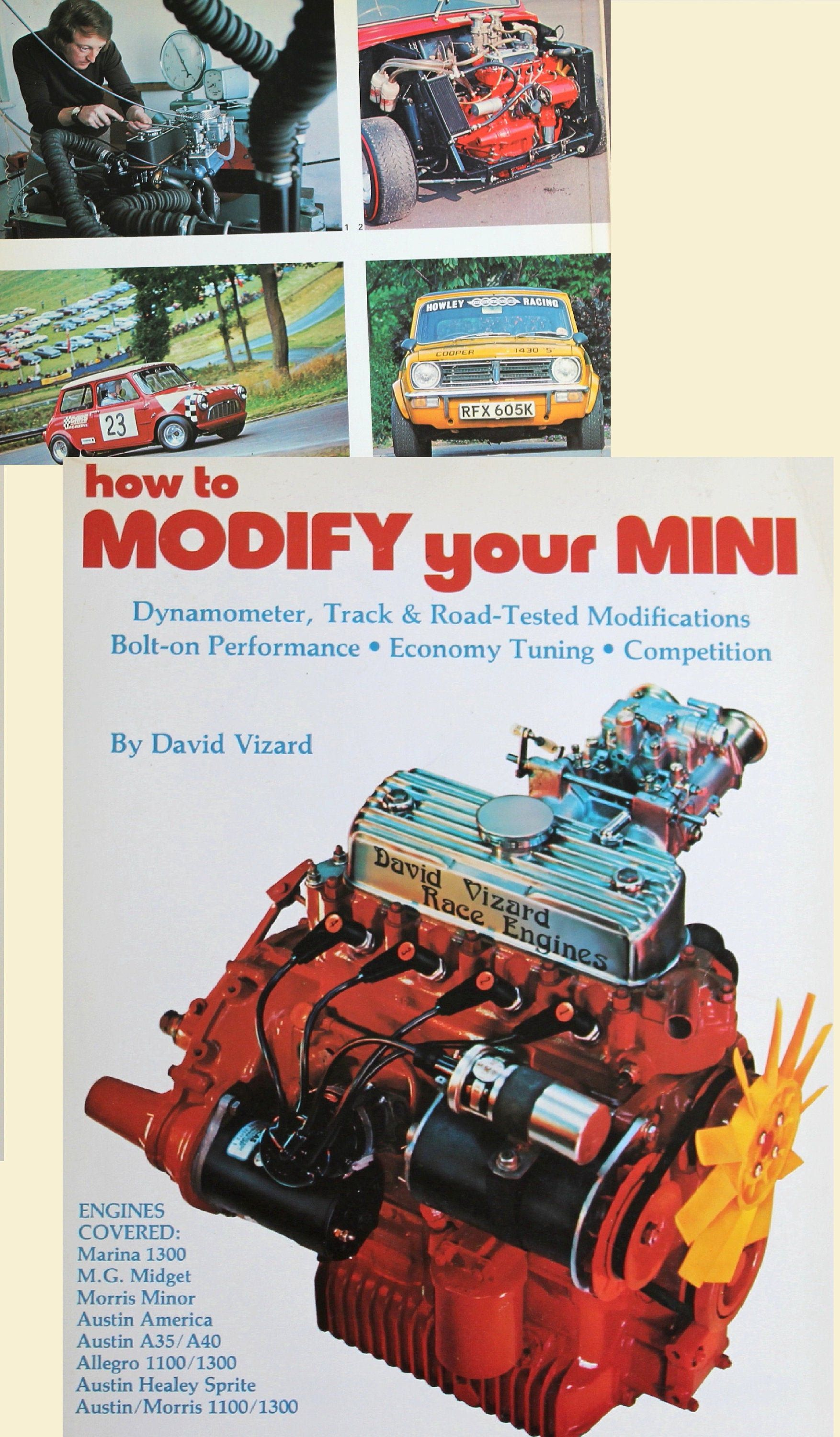How to modify your mini to suit your needs race engines