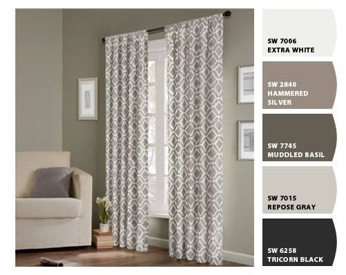 office drapes clinton office curtains overstockcom and paint colors repose gray gray