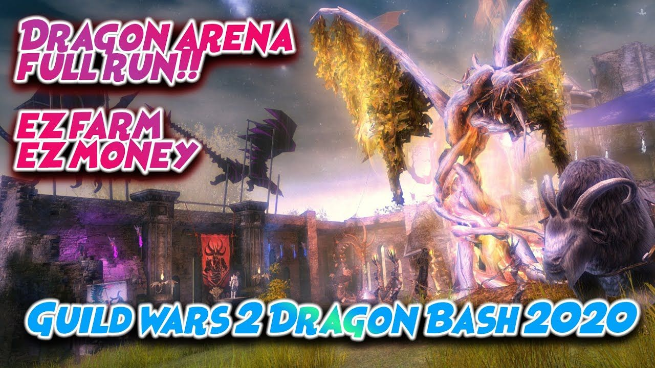 Gw2 Dragon Arena Full Run 5 Champs Easy Dragon Coffer Afk Farm D Dragon Afk Arena