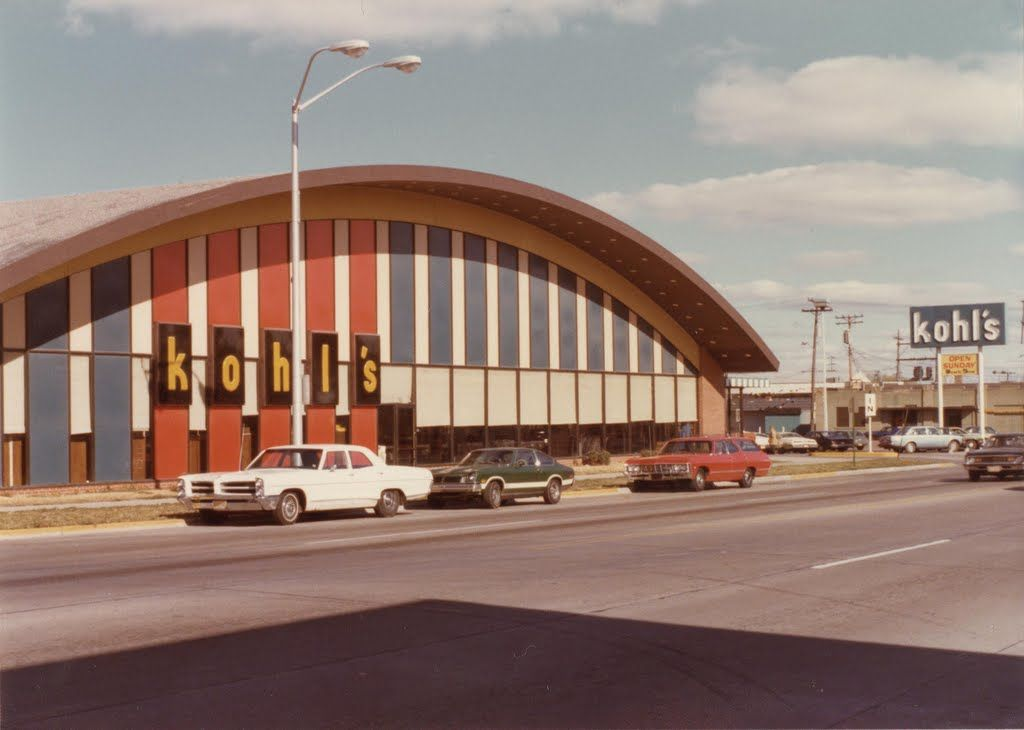 Kohls supermarket 1976 or 1977 been there saw that