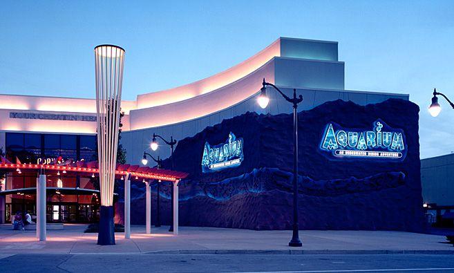 Aquarium Restaurant @ Opry Mills Mall Nashville TN ...