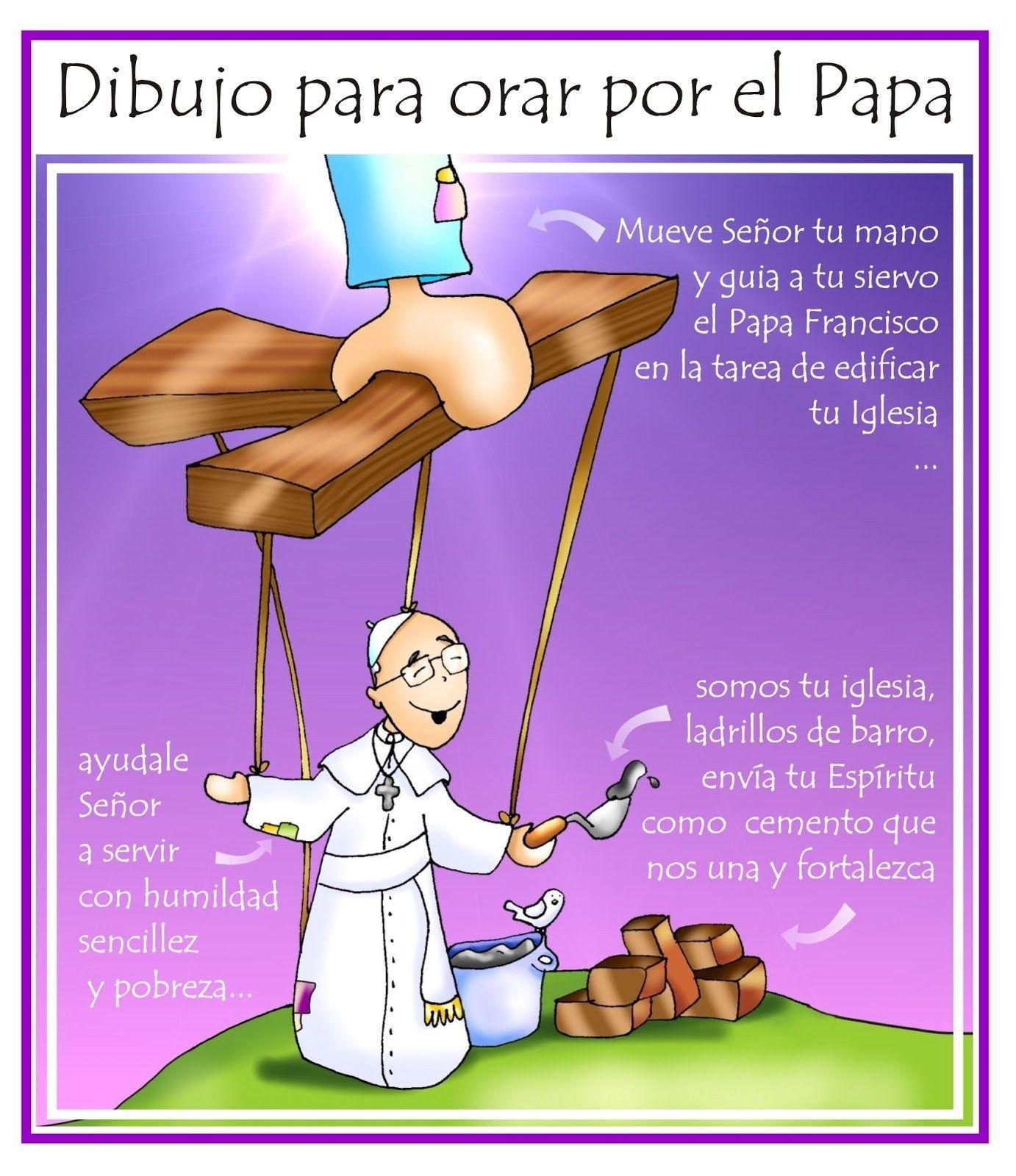 Oracion Por El Papa Bible Stories Superhero Vbs Family Guy