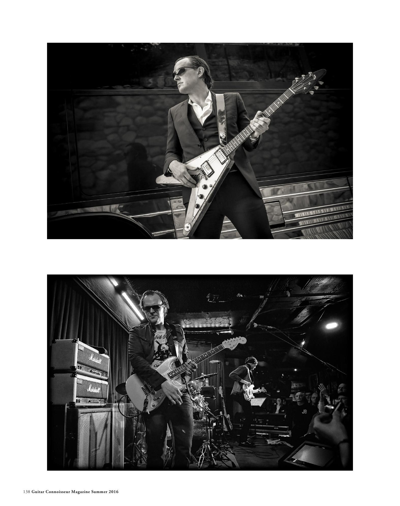 Guitar Connoisseur Magazine American Guitars Issue Summer 2016 Joe