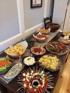 Housewarming party menu ideas