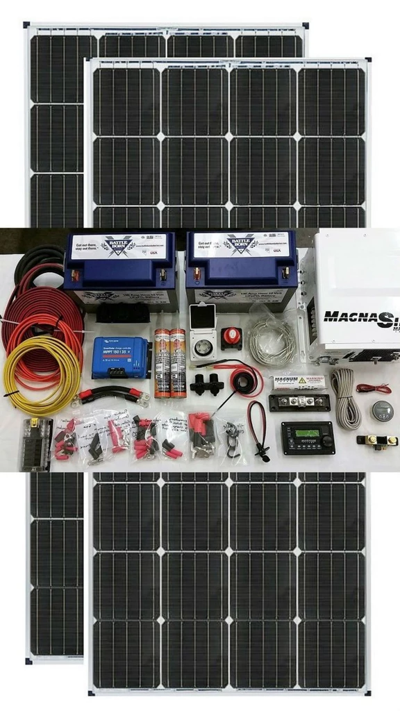 Van Conversion Solar Kit 340 Watt Solar Kit Van Conversion Solar Used Solar Panels