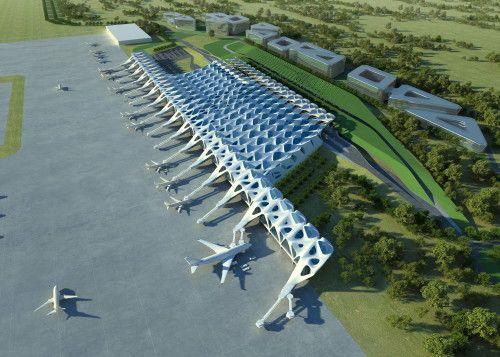 Zagreb Airport Zaha Hadid Architects Arch2o Com Airport Design Zaha Hadid Zaha Hadid Architecture