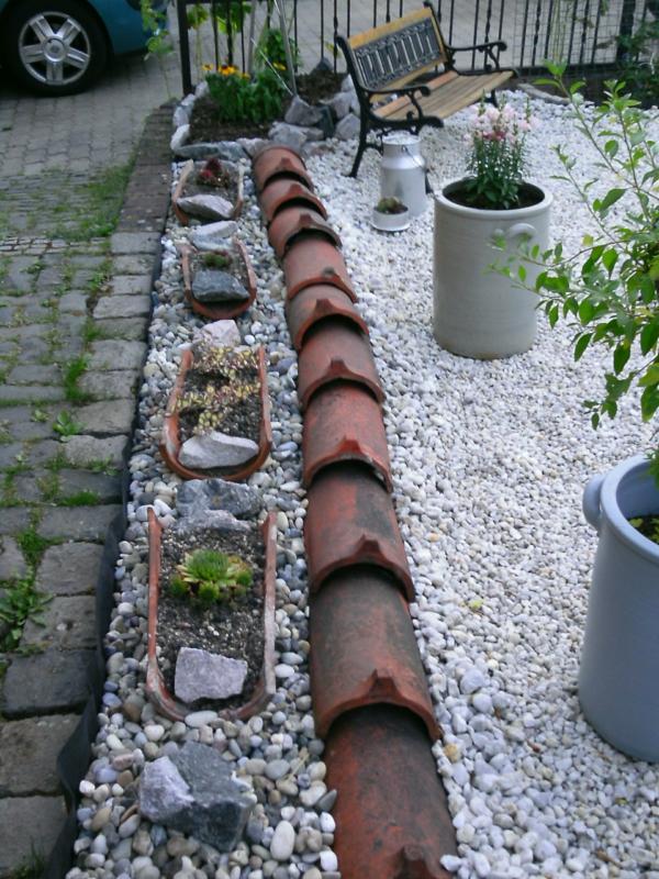 bordures de jardin a realiser a partir