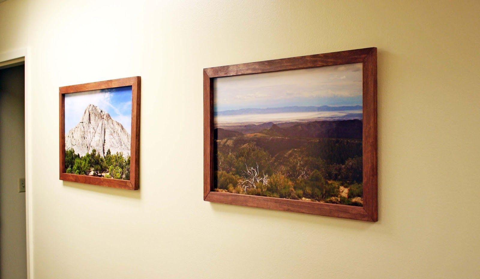 Easy frames for art