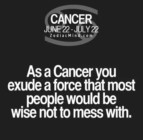 Cancer Sign Quotes Delectable Pinjett Bennett On Zzz Zodiac  Pinterest  Zodiac