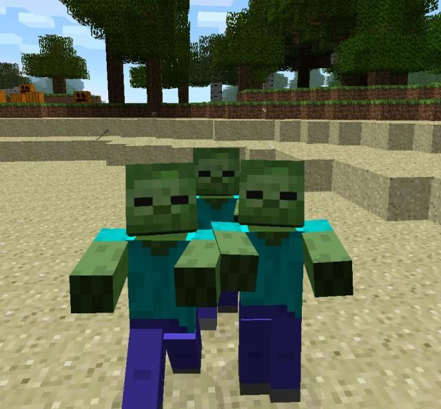 The Top 8 Monsters in Minecraft (And How to Survive Them!): Zombie