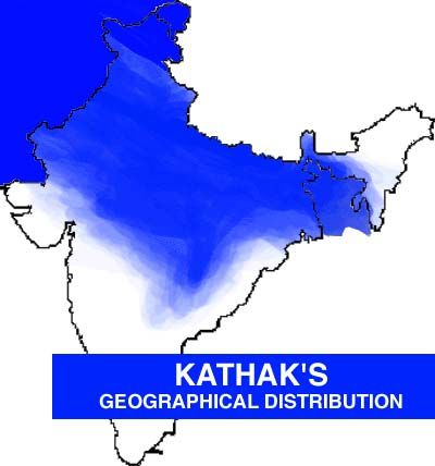 Map of Kathak | Kathak | Indian music, Dance fashion, North
