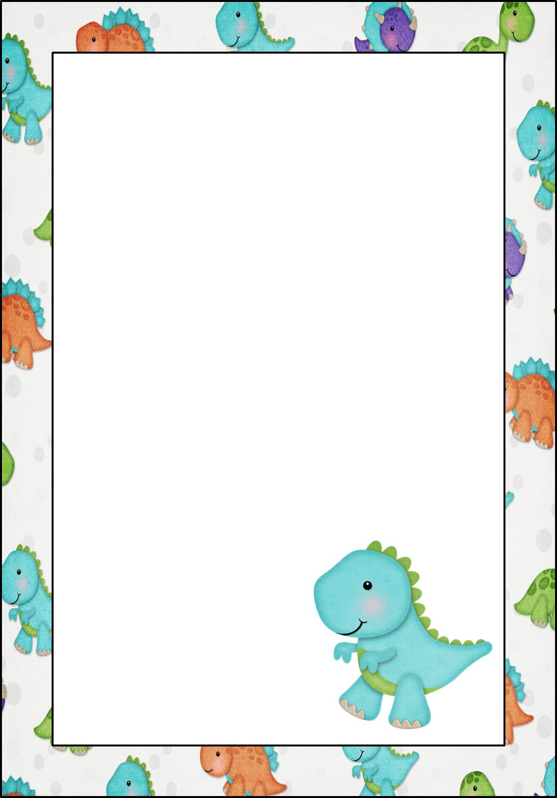 free-printable-frame-201.png (1118×1600) | Dinousours | Pinterest ...