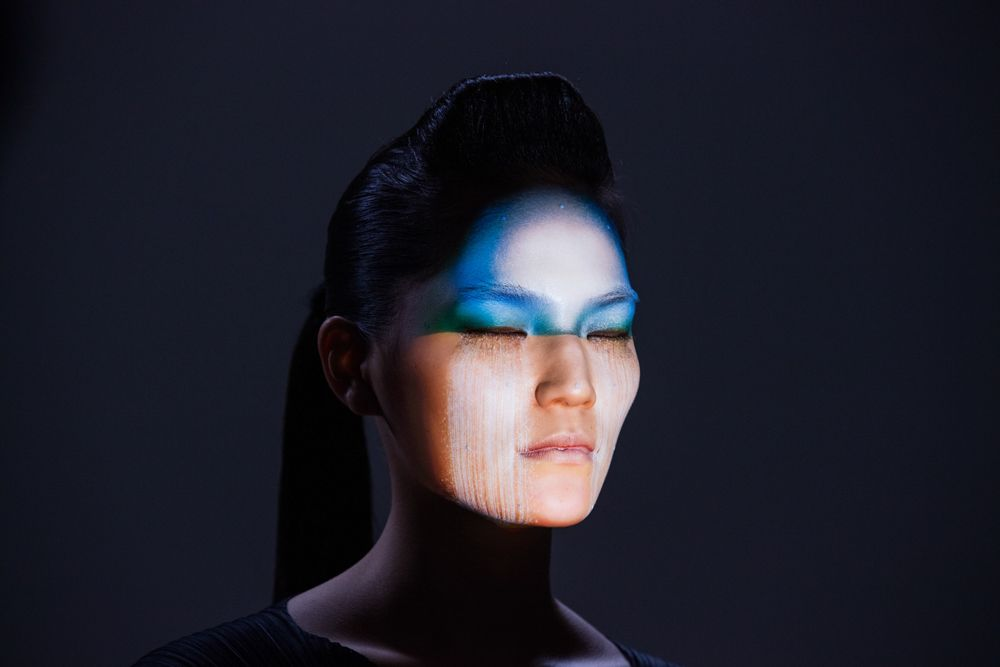Using computer graphics and facial projection mapping and tracking technology, Nobumichi Asai creates a new art form of facial tattoos.