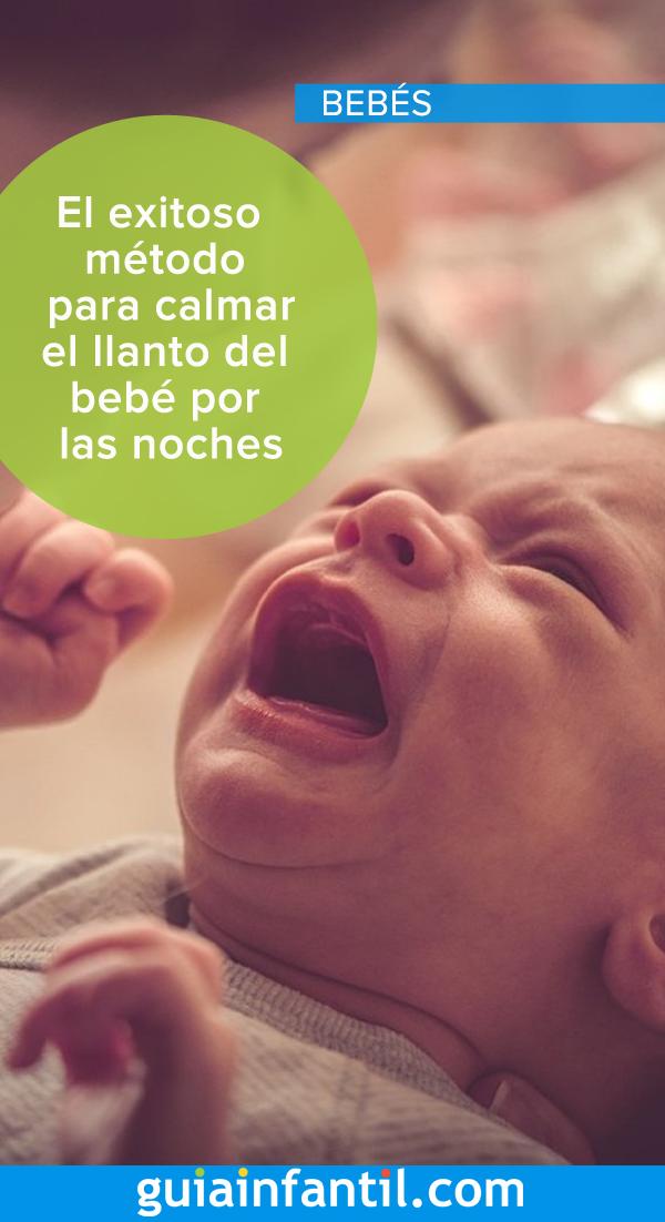 El exitoso método para calmar el llanto del bebé por las noches