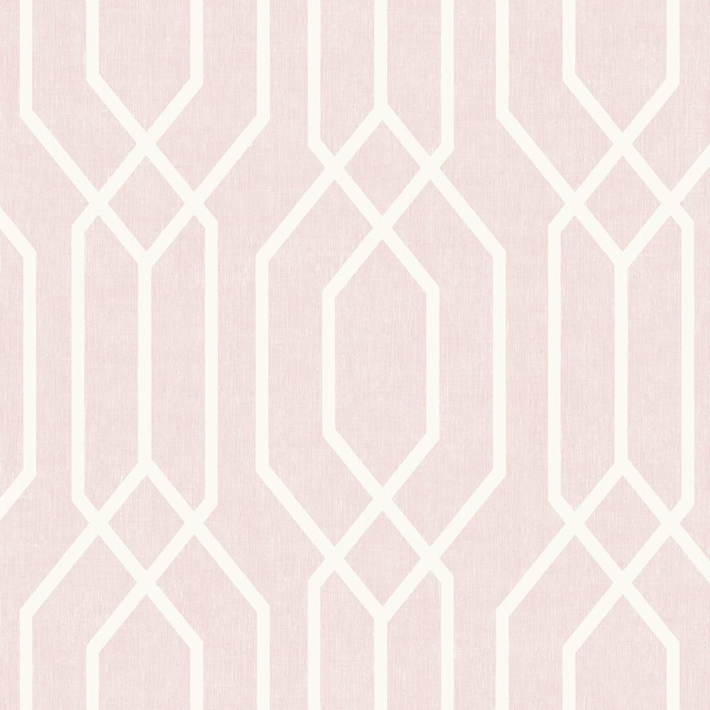Fine Intricate Lines Create A Beautiful Geometric Motif On This Easy Living Wallpaper Design This Wallpaper W In 2020 Geo Wallpaper Wallpaper Panels Trellis Wallpaper