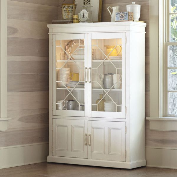 Birch Lane Lisbon China Cabinet | Crafted from birch veneers and ...