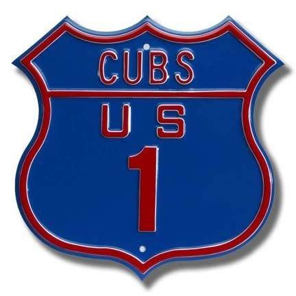 Authentic Street Signs 33007 Cubs Route Street Sign As