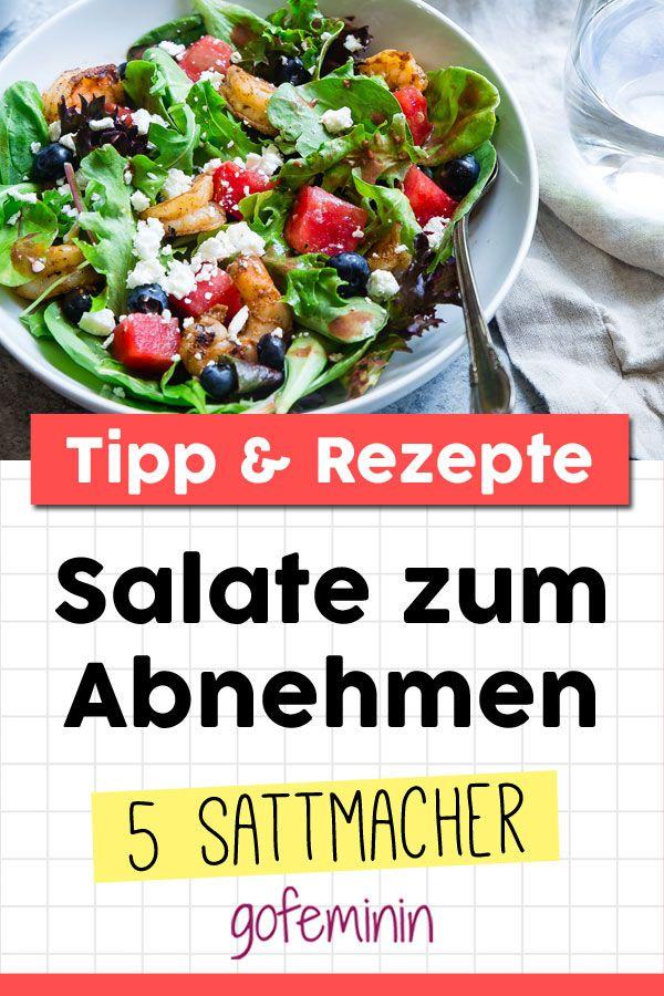 Diese 5 Salate helfen beim Abnehmen und machen auch noch satt!
