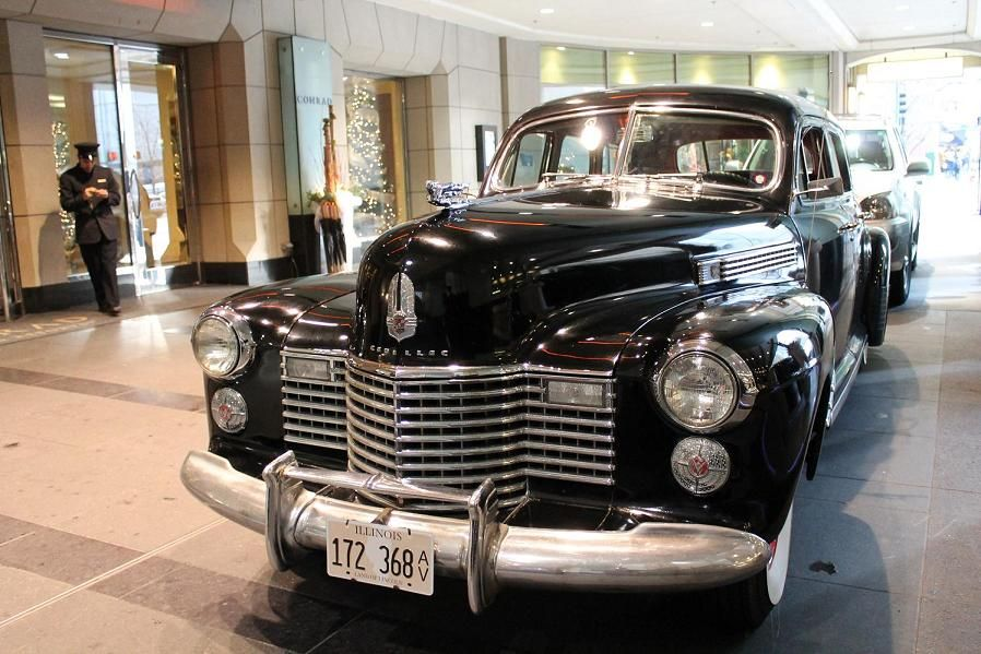 a vintage car is a must 1941 Cadillac Limosine at the Conrad ...
