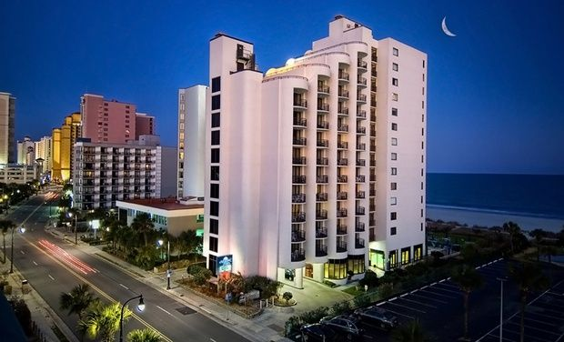 Meridian Plaza Hotel Near Myrtle Beach Boardwalk Groupon