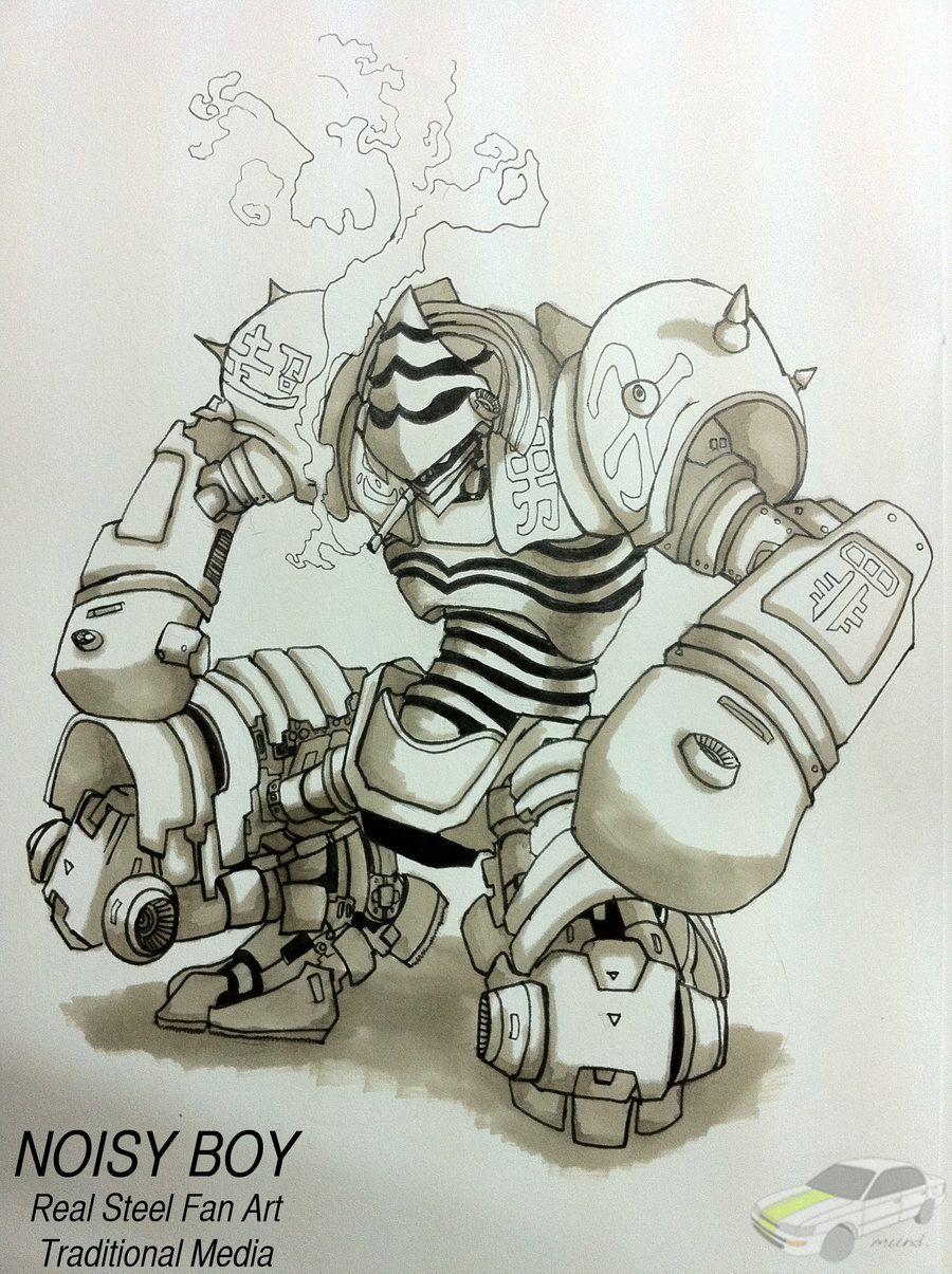 сделавший раскраска живая сталь роботы нашем