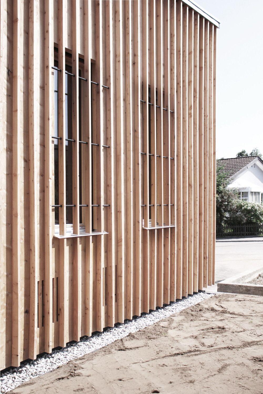 Wohnhaus von Tom Munz in der Schweiz / Esprit en bois - Architektur und Architekten - News / Meldungen / Nachrichten - BauNetz.de