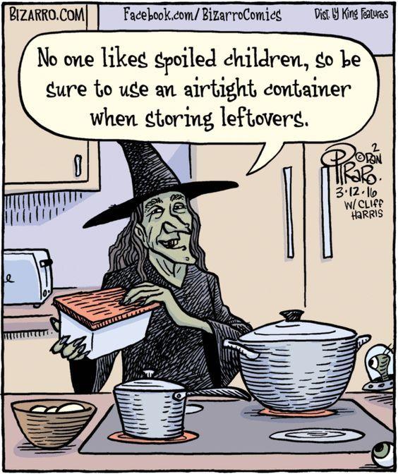 Funny Witch Comic Dark Humor Halloween Jokes Spoiled Kids Halloween Memes