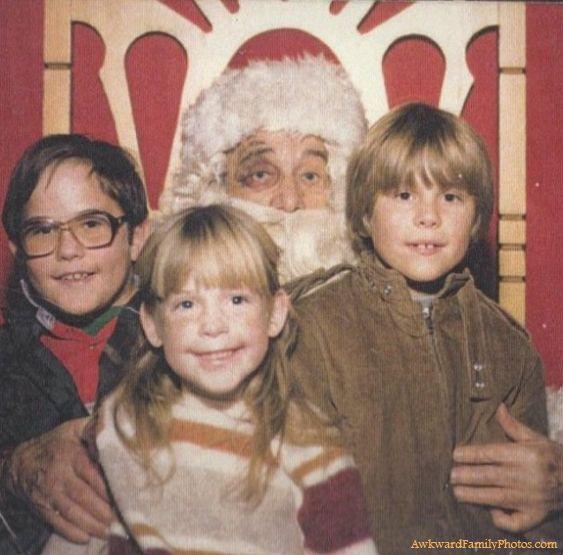 Hmmm, scary santa