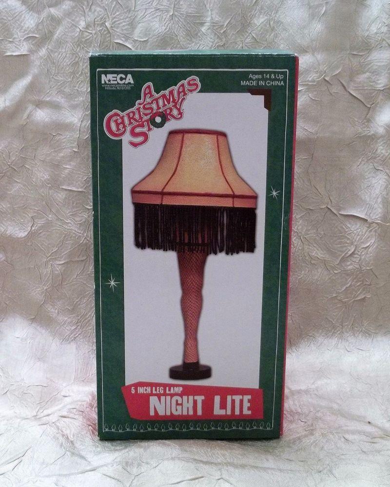 High Quality A Christmas Story Leg Lamp Night Light New In Box