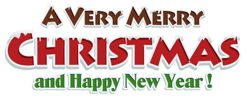 merry christmas red text decor png clipart the best png clipart christmas clipart merry christmas and happy new year happy new christmas clipart merry christmas