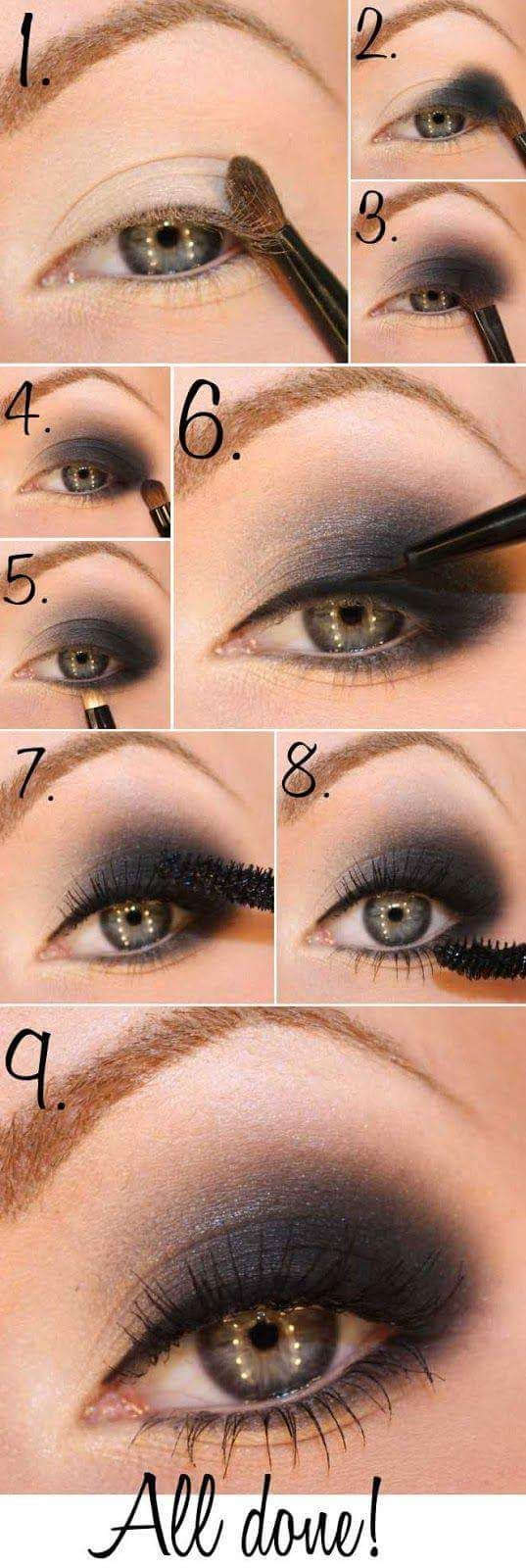 15 Smokey Eye Tutorials – Step by Step Guide to Perfect Hollywood Makeup %%page%%