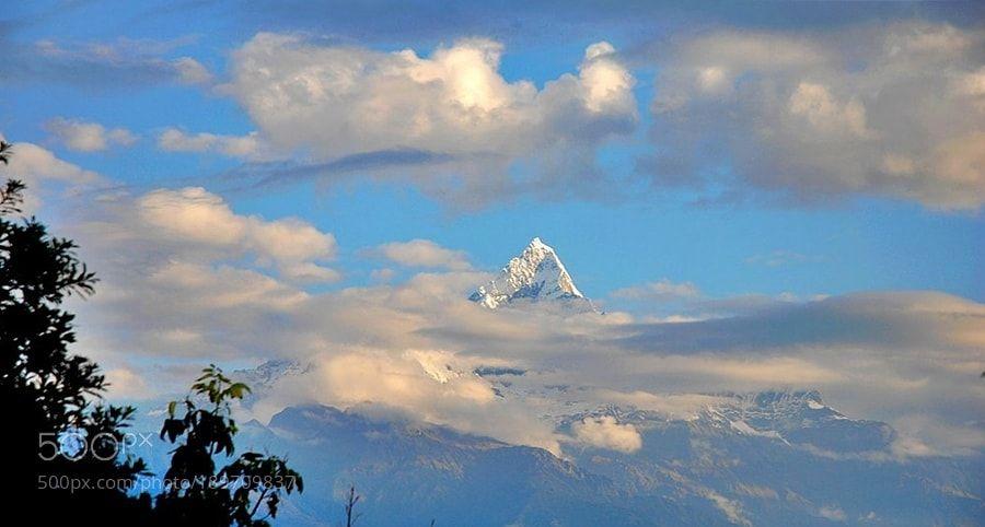 Popular on 500px : Mount Machhapuchchhre ( 6993 m.) by HUSEYINAY