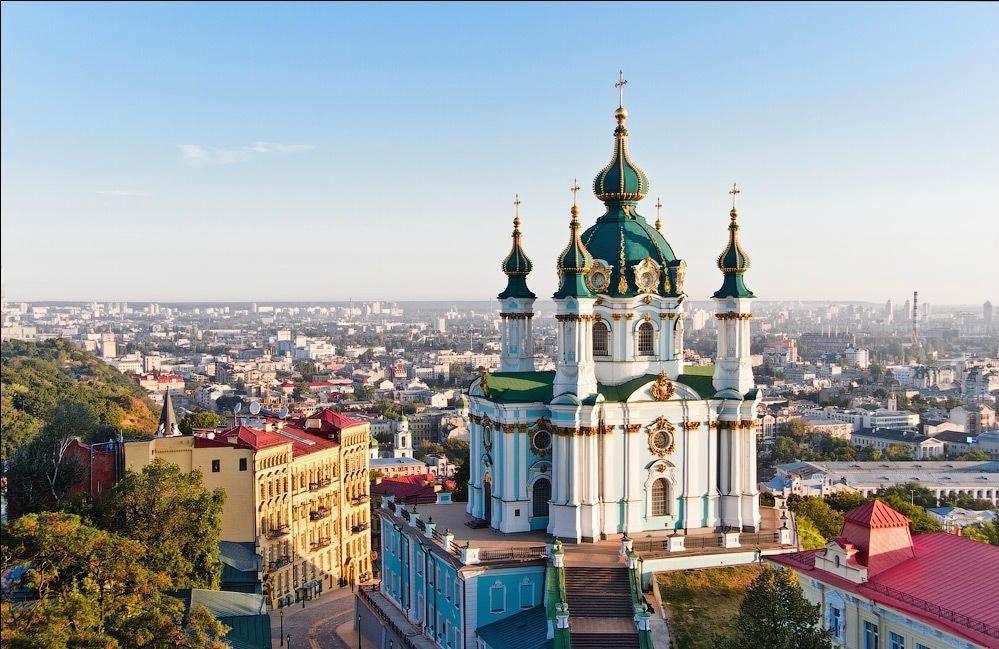 St Andrew's Church, Kiev | Храм, Турист, Соборы