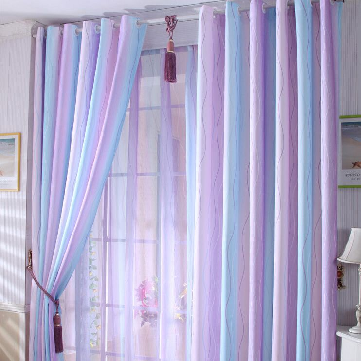 Living Room Curtains Swag Purple | Amusing Interior ...