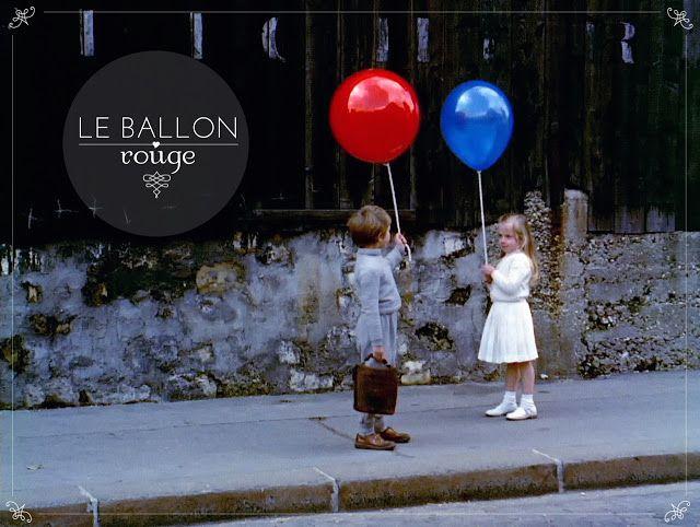 Inventando flores: o balão vermelho