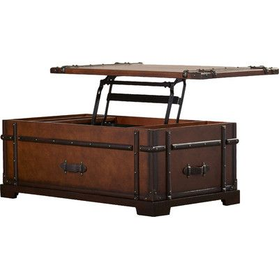 Colby Lane Coffee Table Trunk With Lift Top Joss Main Coffee Table Trunk Lane Coffee Table Coffee Table