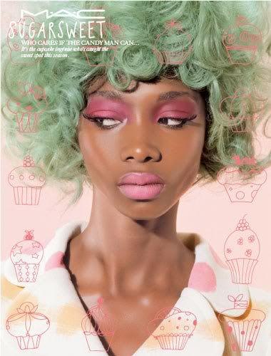 Not Found Green Hair Dark Skin Models Candy Hair