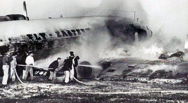 lockheed constellation eastern air crashes aviation