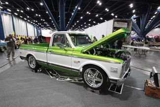 Richard Tierney S 72 Big Block Chevrolet Cheyenne Super 10 Truck